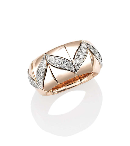 Picchiotti Rose Gold Accented Ring