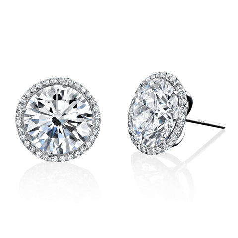 Rahaminov Diamond Stud Earrings