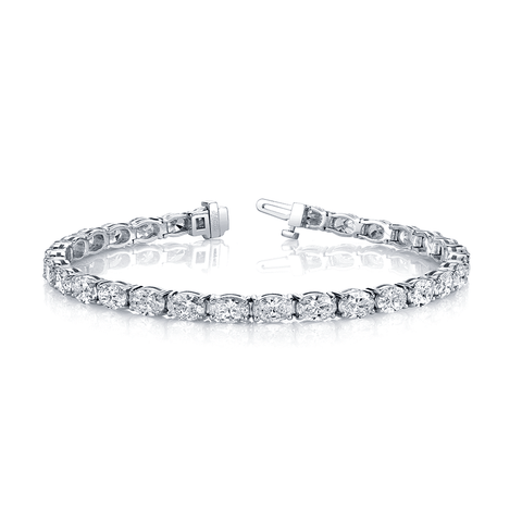Norman Silverman East West Diamond Bracelet