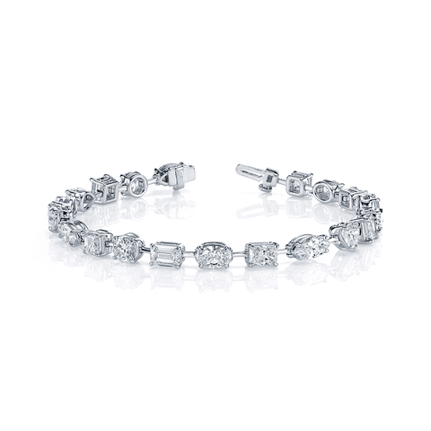 Norman Silverman Diamond Bracelet