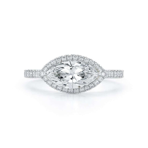 KWIAT MARQUISE DIAMOND ENGAGEMENT RING
