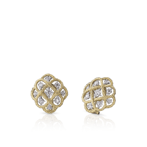 Buccellati Étoilée Button Earrings