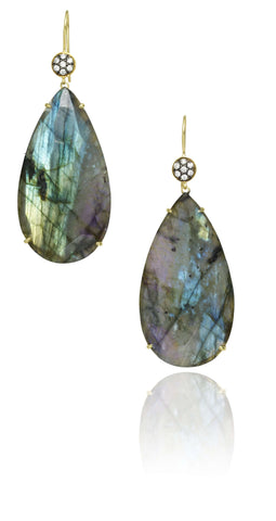 LAUREN K LABRADORITE EARRINGS