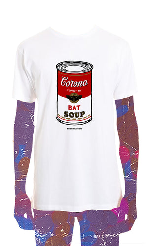 Bat Soup Chest Tee