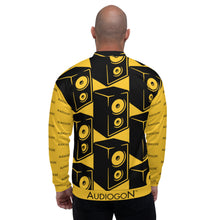 Load image into Gallery viewer, All-Over Audiogon Speaker Bomber Jacket