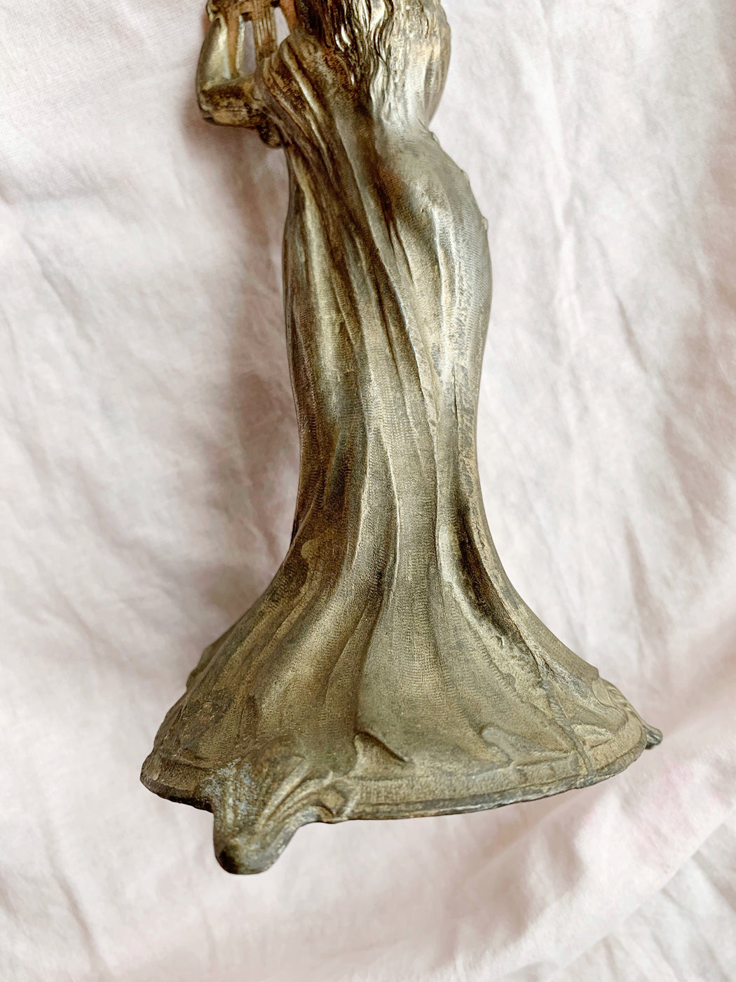 French Art Nouveau Lady Figure Epergne Circa 1880 - Storytellers Workshop