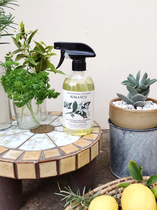 All Natural Multi Purpose Kitchen Cleaning Spray