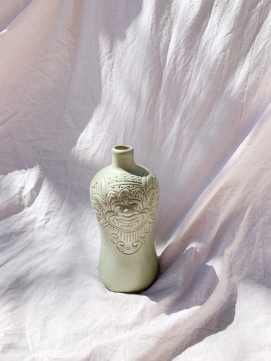 Ceramic Barong Vase - Storytellers Workshop