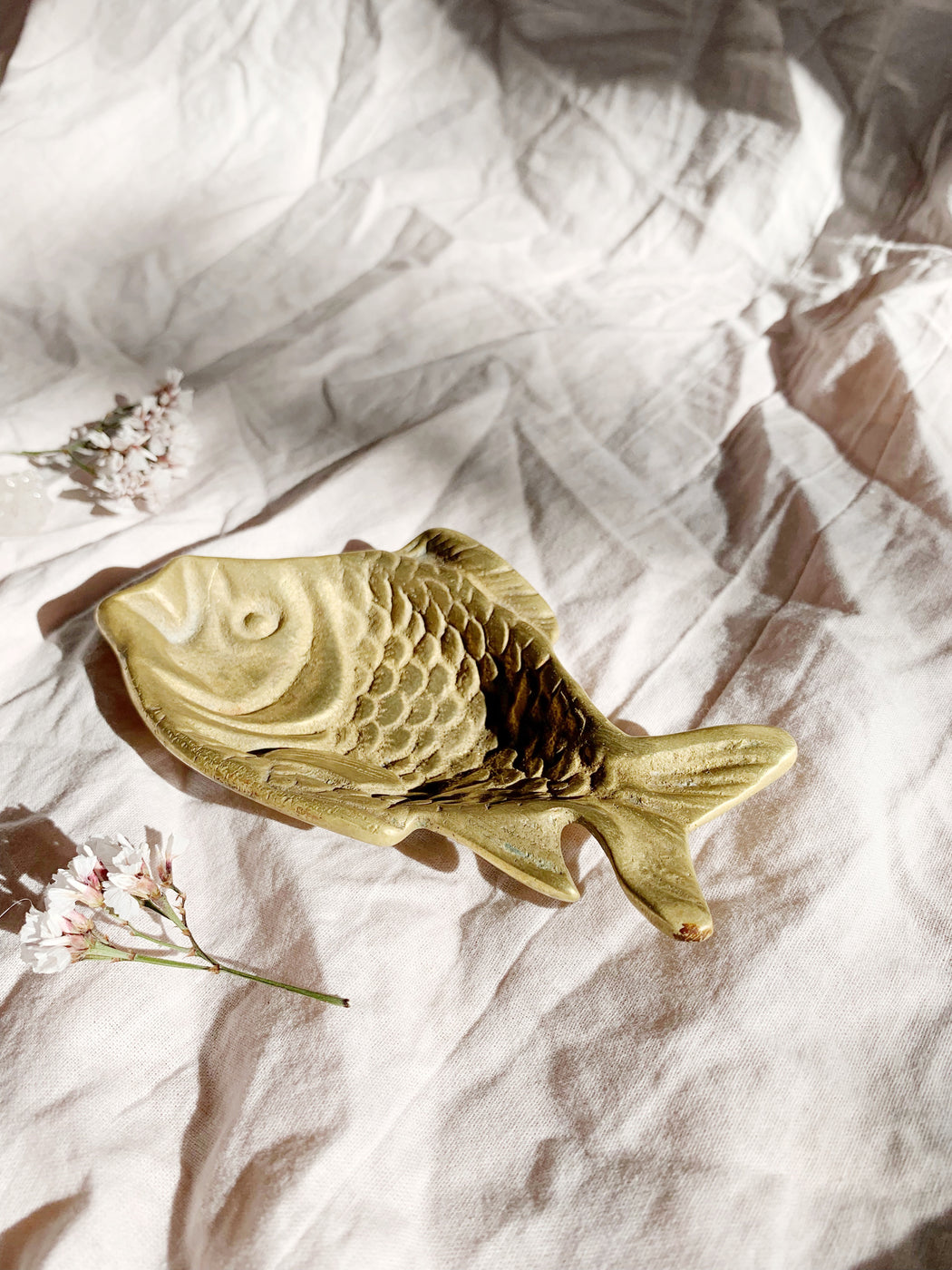 Brass Fish Trinket Dish