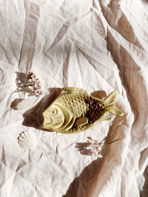 Brass Fish Trinket Dish - Storytellers Workshop
