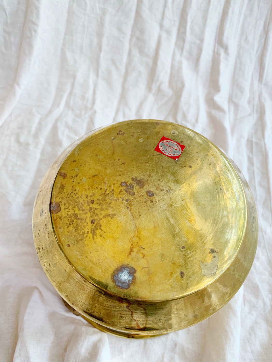 Small Brass Pot | Storytellers Workshop