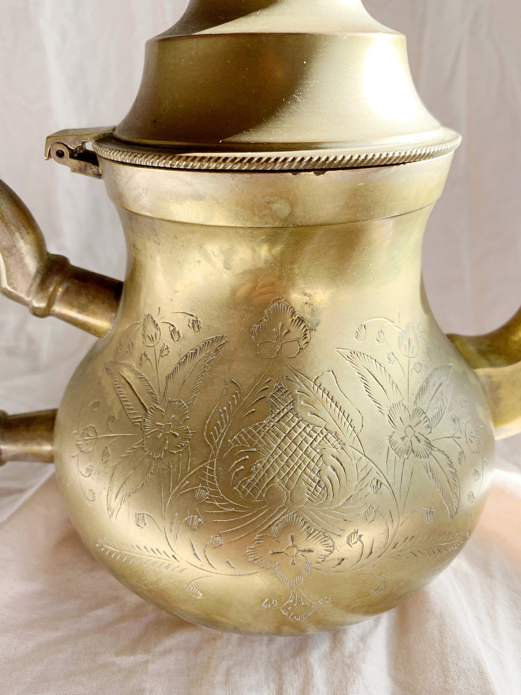 Middle Eastern Brass Teapot