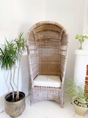 Cane Dome Chair