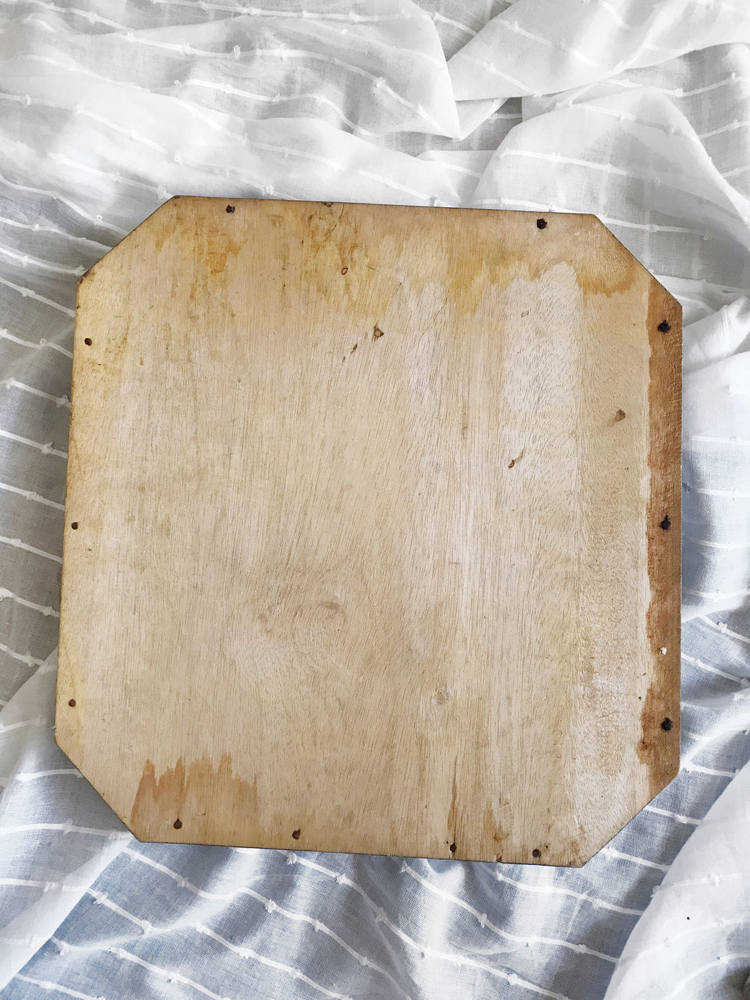 Carved Wooden Serving Tray - Storytellers Workshop