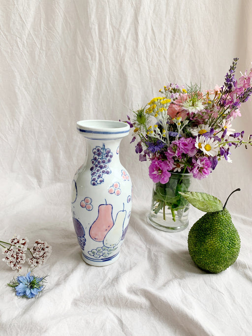 Ceramic Fruit Vase - Storytellers Workshop