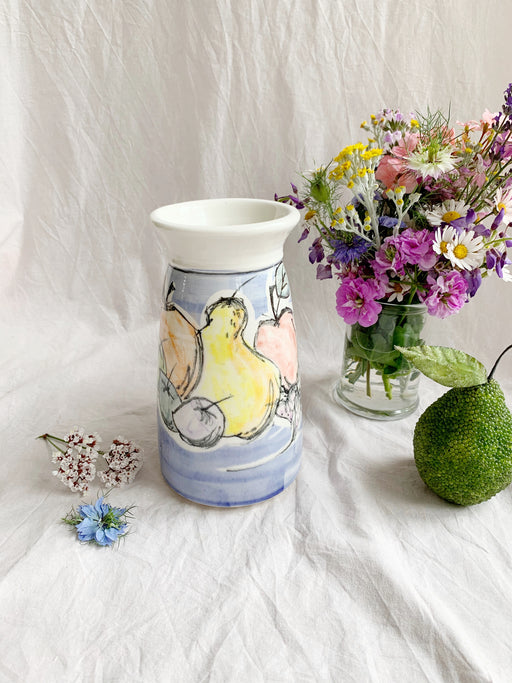 Hand-Made Pottery Fruit Vase - Storytellers Workshop