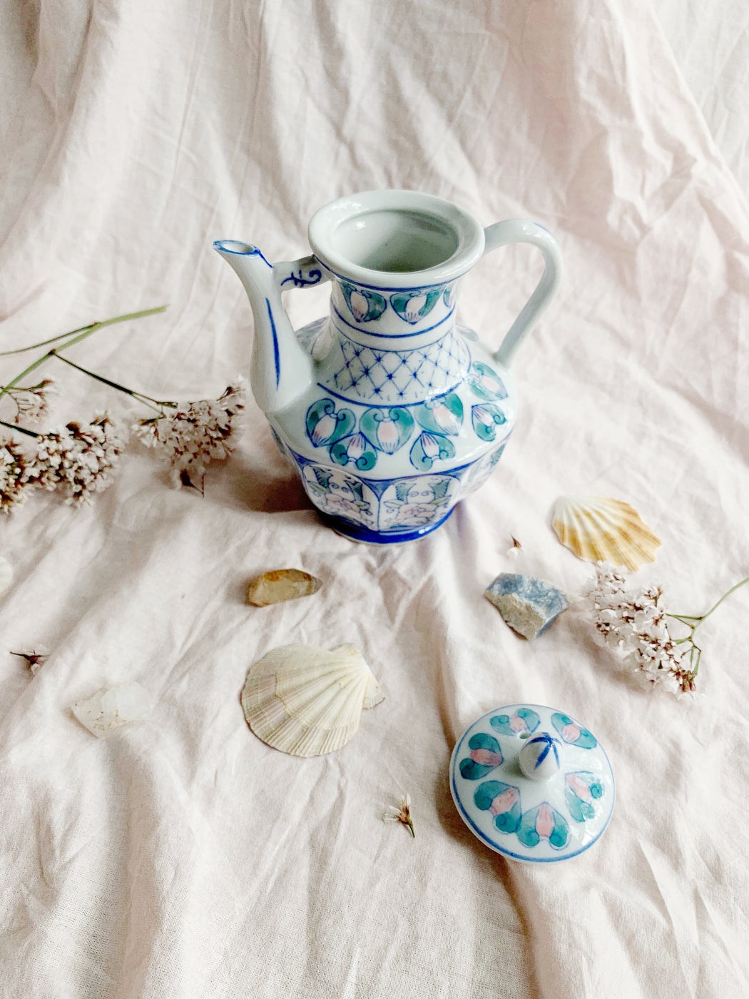 Small Chinese Ceramic Teapot | Storytellers Workshop