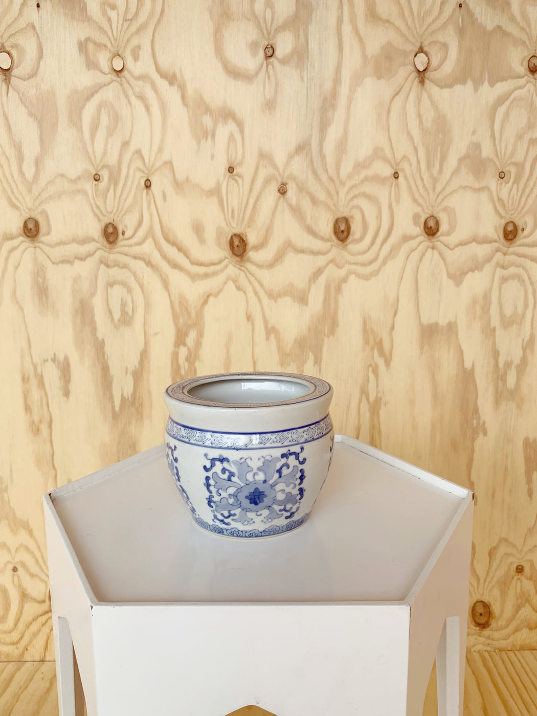 Chinese Ceramic Plant Pot - Storytellers Workshop