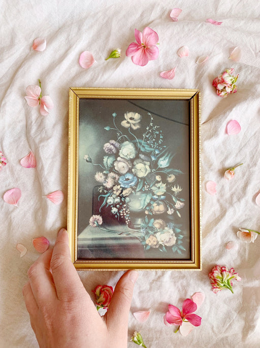 Small Framed Floral Art