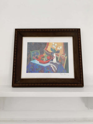 Vintage Colourful Still Life Print
