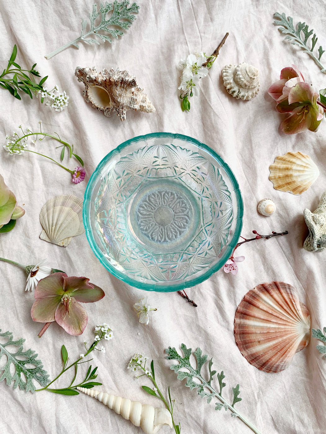 Iridescent Glass Bowl | Storytellers Workshop