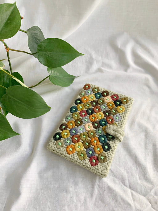Hand-Stitched Address Book Cover