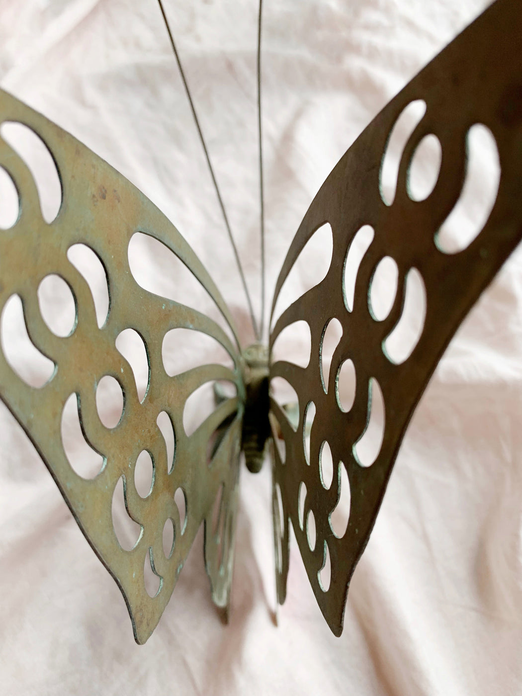 Rustic Metal Butterfly