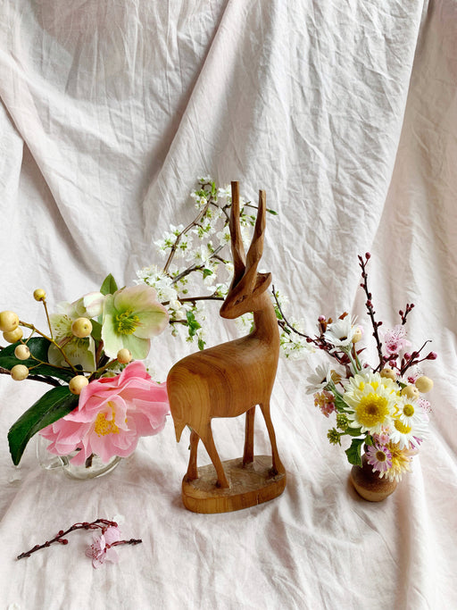 Mid Century Gazelle Ornament | Storytellers Workshop