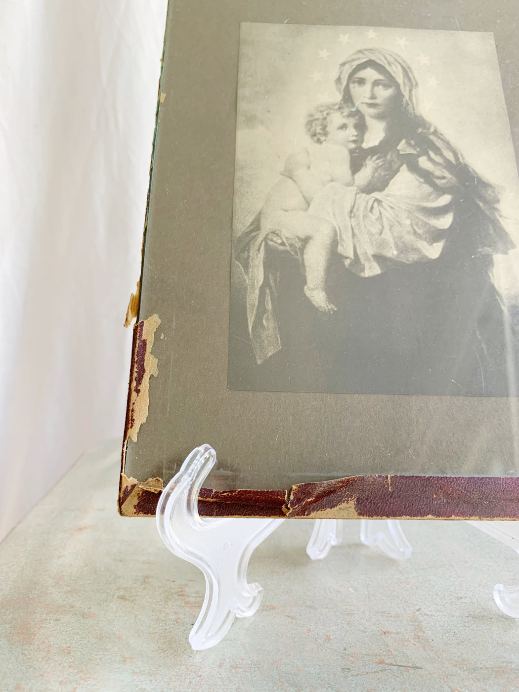 1920's Mother Mary and Baby Jesus Print - Storytellers Workshop