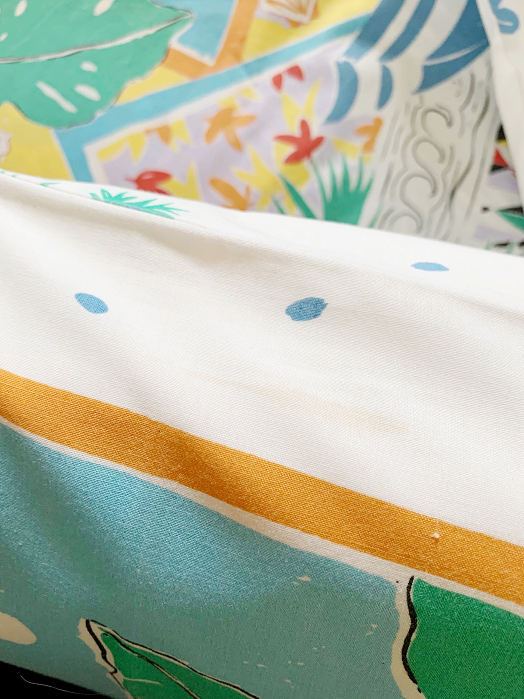 Queen Size Colourful Seaside Quilt Cover and Pillowcases | Storytellers Workshop