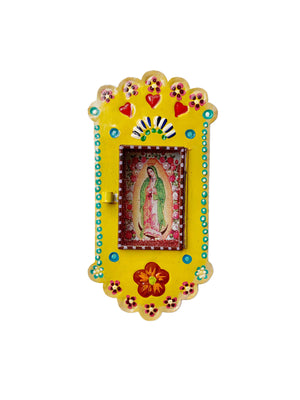 Our Lady of Guadalupe Nicho - Yellow