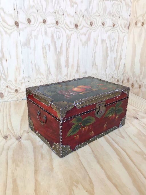 Hand-Painted Wooden Treasure Chest | Storytellers Workshop
