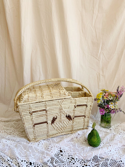 Woven Picnic Basket | Storytellers Workshop