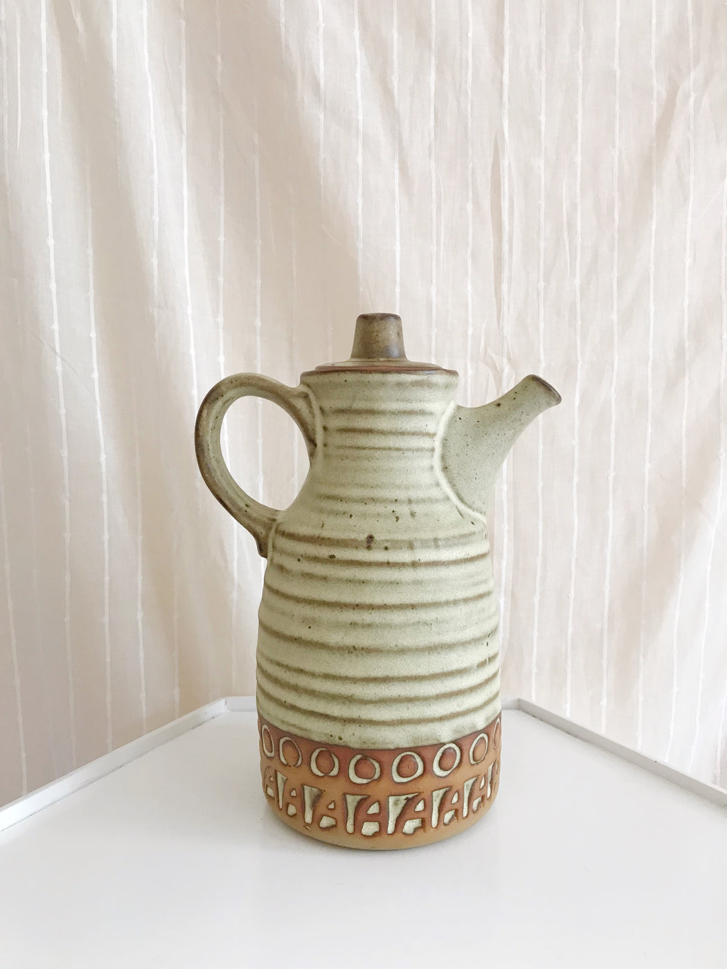 Vintage Pottery Tea Pot by Tremar Pottery | Storytellers Workshop