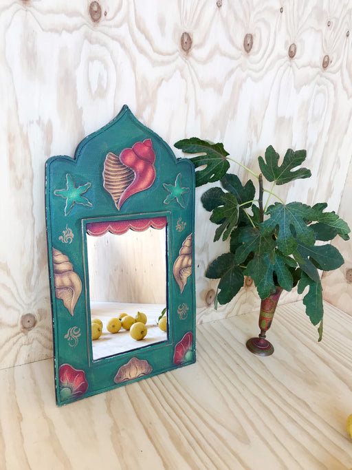 Green Shell Mirror