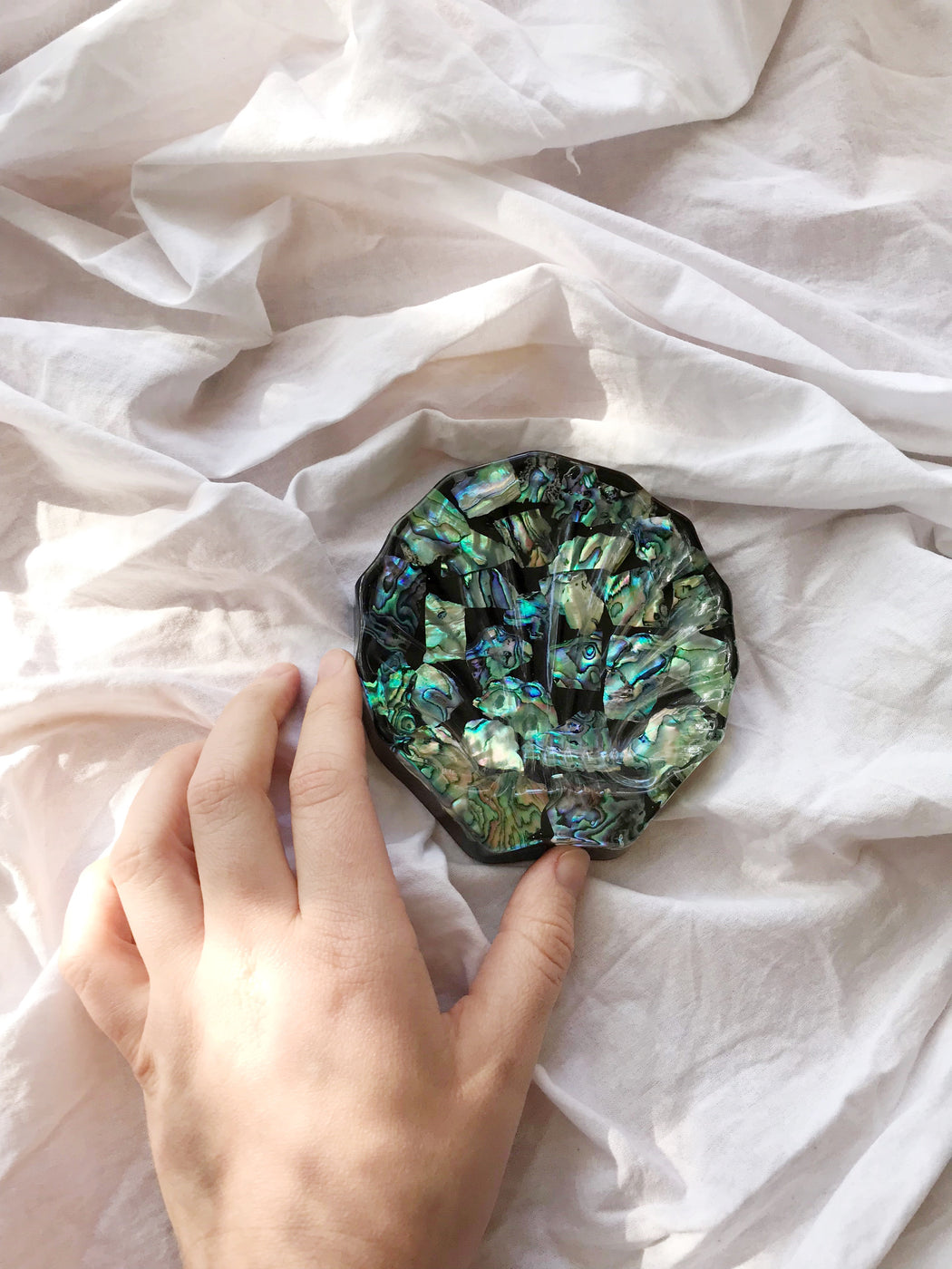 Paua Shell Soap Dish | Storytellers Workshop