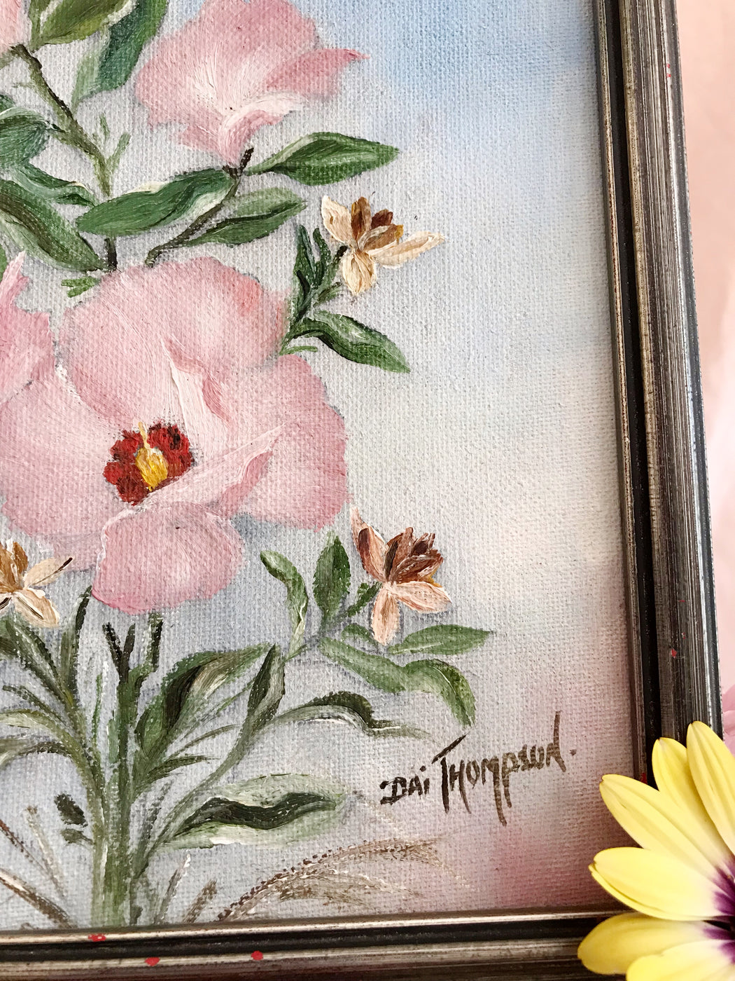 Small Floral Original Painting | Storytellers Workshop