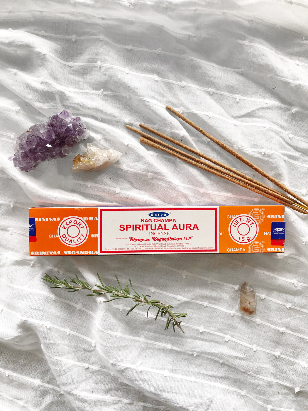 Satya Spiritual Aura Incense 15gm