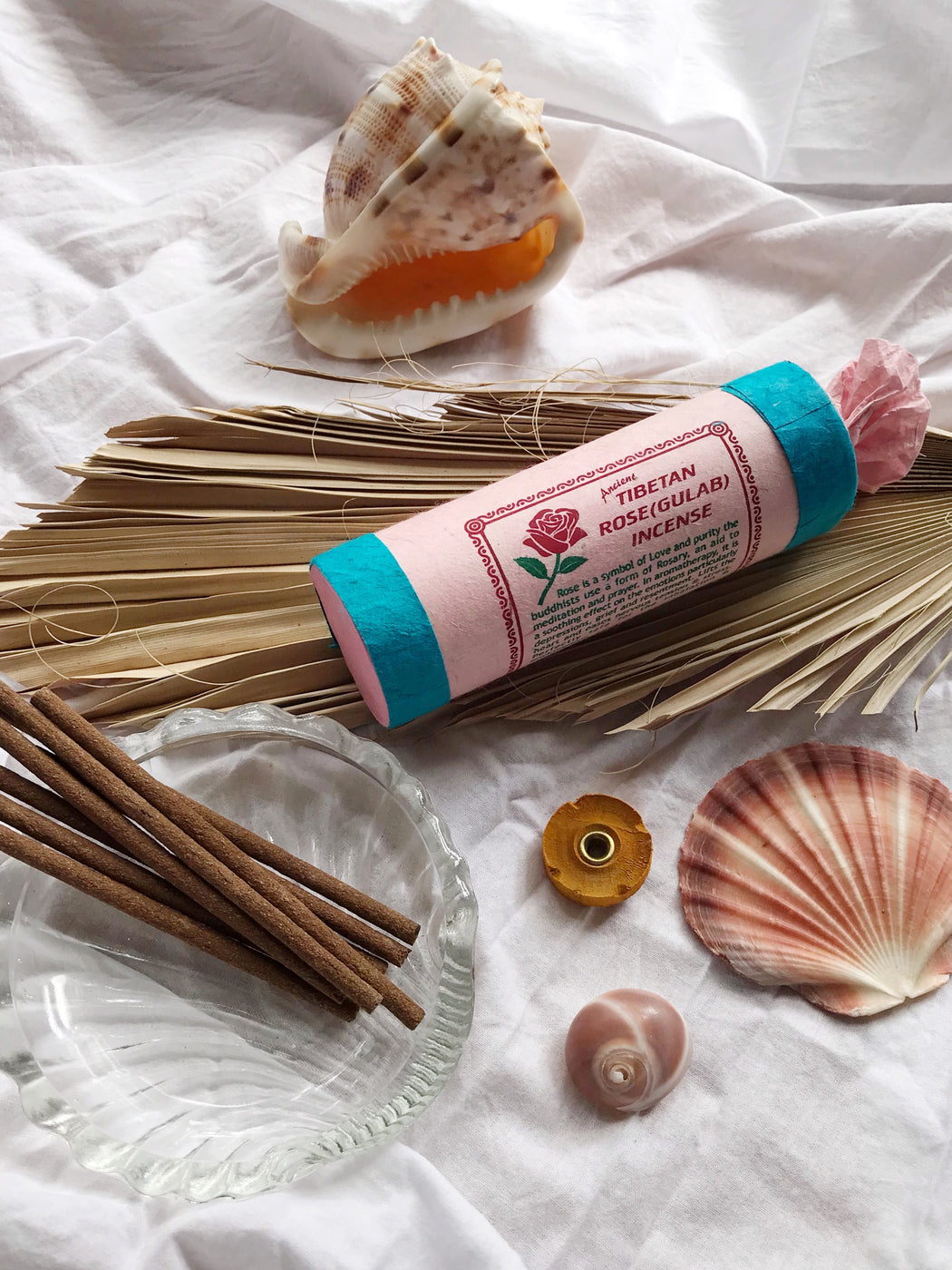 Tibetan Rose Incense | Storytellers Workshop