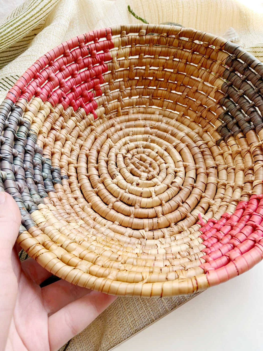 Woven Basket Bowl | Storytellers Workshop