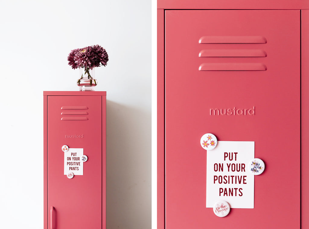 Skinny locker by Mustard Made - Berry