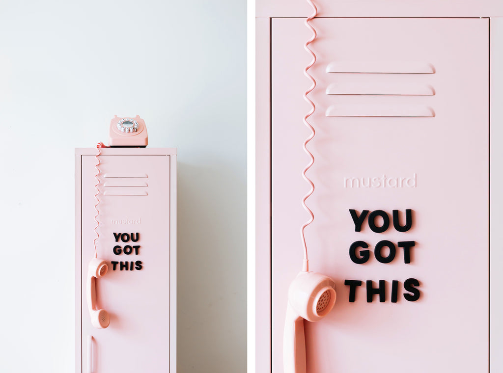 Skinny locker by Mustard Made - Blush