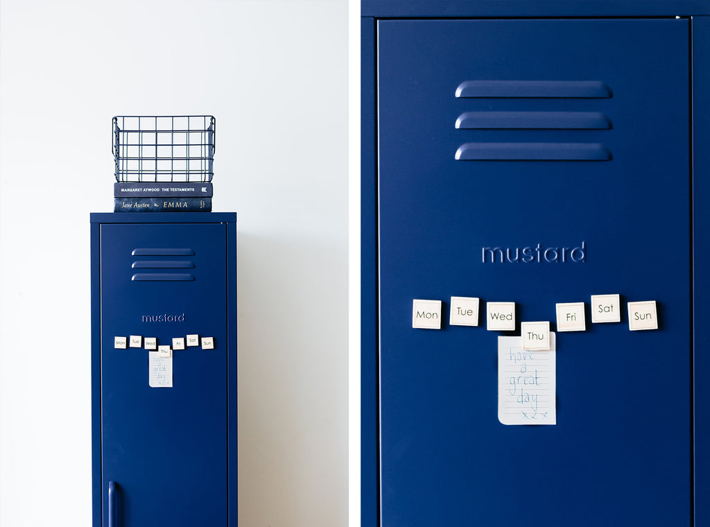Skinny locker by Mustard Made - Navy
