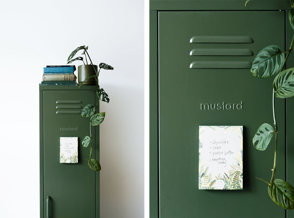 Skinny locker by Mustard Made - Olive