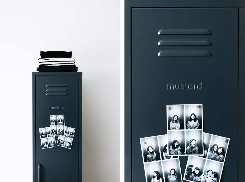Skinny locker by Mustard Made - Slate
