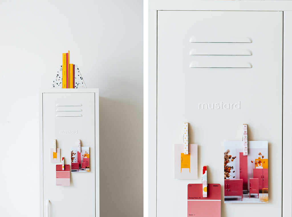 Skinny locker by Mustard Made - White