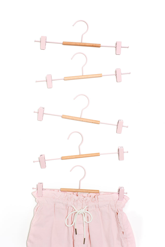 Adult Clip Hangers in Blush