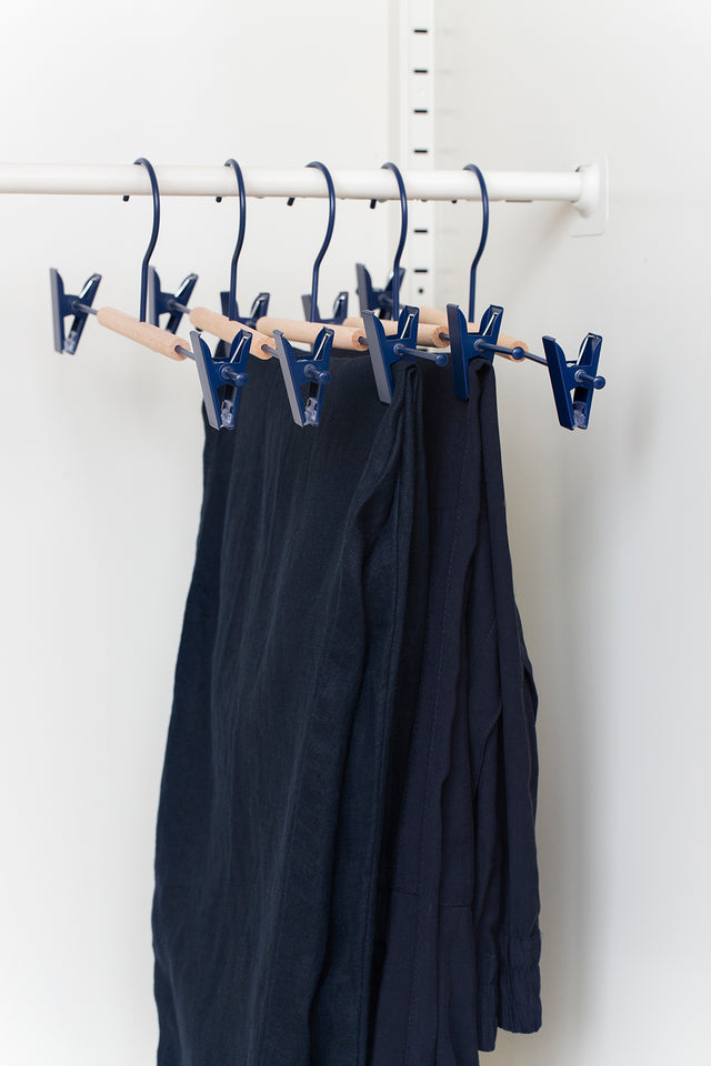 Adult Clip Hangers in Navy