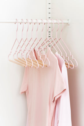 Adult Top Hangers in Blush