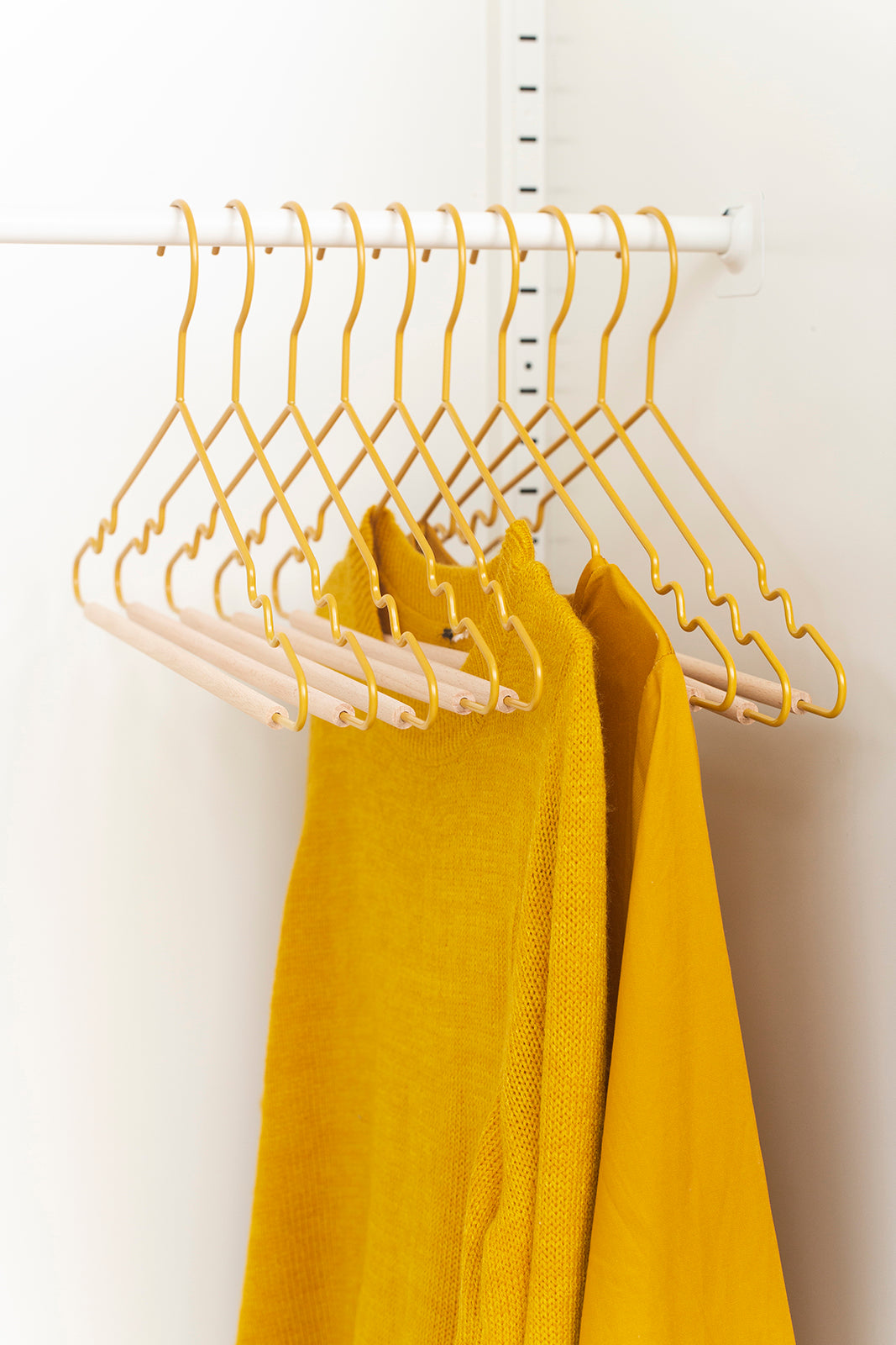 Adult Top Hangers in Mustard
